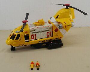 Matchbox MEGA RIG Mattel RESCUE SQUAD HELICOPTER Action Vehicle 1997