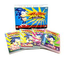 Sega SONIC THE HEDGEHOG Video Game Cartoons 4 DVD BOX SET, unused