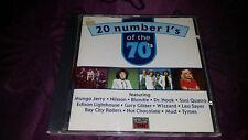 CD 20 Number 1 S OF THE 70 s-sampler