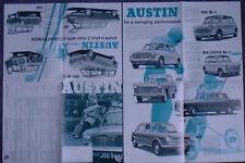 Austin Range Mini Mk II Cooper 1300 1100 A60 1800 A110 1967-68 Brochure 2446