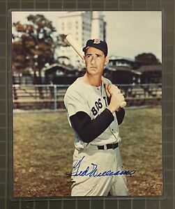 Ted Williams Signed 8x10 Photo Autographed AUTO JSA LOA Red Sox HOF Auction #1