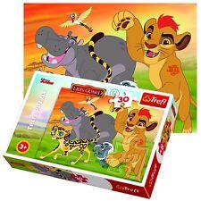 Trefl 30 piezas Niños Unisex Guardia Nala Disney Rey León Mufasa Rompecabezas Nuevo