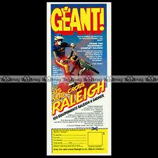 RALEIGH BURNER Vélo Cross BMW Bicross Vintage 1983 - Pub / Publicité / Ad #C136
