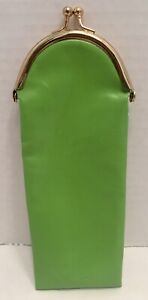 Kate Spade green Glasses Case Coin Purse Clasp