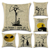 Halloween Pillow Party Cushion Case Sofa Bed Waist Cover Throw Home Decoration