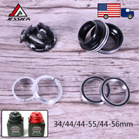 "JESSICA Sealed Bearing Aluminum Alloy Headsets For 1-1/8"" Straight/Tapered Tube"