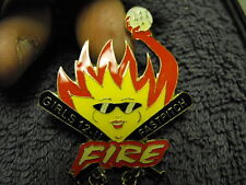 1999s Center Grove Girls 12-U Fire Fast Pitch Softball Collectors Pin