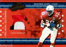 Edgerrin James 2003 Playoff Absolute Pro Bowl Souvenirs Jersey Prime Patch #/25