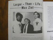 Dec. 8/9 1972 MAX ZIEL Classic Men's Basketball Program(OSWEGO/WOOSTER/HAMILTON)