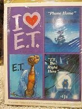 Hallmark E.T. The Extra Terrestrial Sticker sheet one sheet