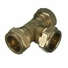 16 x New Compression Equal Tee 35mm Brass plumbing fittings