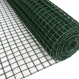 50CM x 5M Plastic Mesh Garden Fencing – Heavy Duty Fruit Vegetable Green Netting