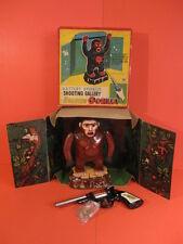 ALL ORIGINAL MASUDAYA ROARING GORILLA SHOOTING GALLERY + ORIGINAL BOX