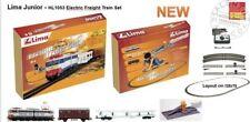 Lima HL1053 start set treno con carro auto e bestiame e binari - 1/87