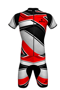 Mens Cycling Triathlon Suite Padded Skinsuit Running Swimming Compression ROXX