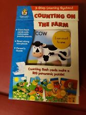 Discovery Toys Train Puzzle Counting on the Farm