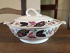 "Pretty Vintage Grindley China Lidded vegetable tureen. 11.5"" x 8.75"" x 5.5"" tall"