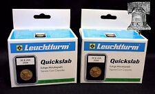 10 Lighthouse QUICKSLAB Holders 18mm Roosevelt Dime Graded Coin Case SLAB #1