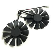2pcs VGA Fan GTX 1070/1060 graphics card fan for asus dual GTX1060 GTX1070  4Pin