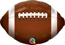 """FOOTBALL PARTYS SUPPLIES 18"""" QUALATEX SPORTS BALL HELIUM FOIL BALLOON"""