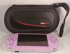 Purple Lavender Sony PSP 3001 3000 Fully Tested! Bundled Case, Charger, 1GB!