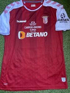 SC Braga Portugal Match Worn Shirt Jersey Maillot 2019/20 Special Edition Final