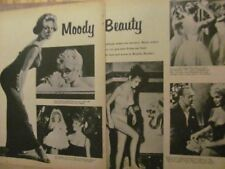 Brigitte Bardot, Two Page Vintage Clipping