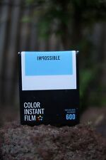 *NEW* Impossible Project COLOR FILM FOR Polaroid Type 600