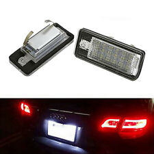 LED License Plate Light For Audi A3 S3 A4 S4 B6 B7 A6 Audi Only Waterproof New