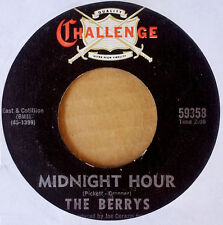 THE BERRYS - MIDNIGHT HOUR b/w SAND AND SEA - CHALLENGE - GARAGE 45 - 1967