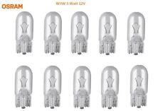 10 Stück OSRAM Autolampe W3W 3 Watt 12V 3W Birne Glühlampe Lampe Leuchte