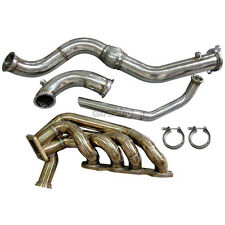 CXRacing Turbo Manifold Downpipe Dump Tube for HONDA S2000 F22 Engine11 Gauge