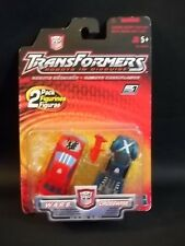 2001 TRANSFORMERS 2 PACK FIGURINES W.A.R.S. & CROSSWISE WARS HASBRO NEW NIB