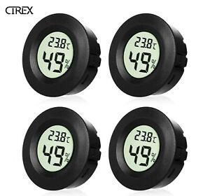 4x LCD Mini Digital Thermometer Hygrometer Temperature Humidity Humidity Meter