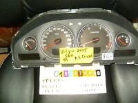 volvo v70 30746102 s60 kombiinstrument tacho tachometer cluster clock diesel