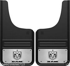 12x23 Rear Gatorback 2009-2016 Dodge Ram Logo Mud Flaps New Free Shipping USA