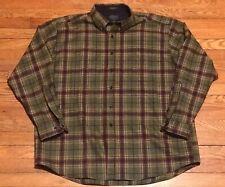 Pendleton Fireside Flannel Wool Shirt Sz XXL