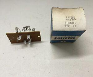 1969-73 NOS C-Body AC Heater Blower Resistor w/ ATC A/C Auto Temp Control Motor