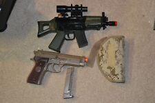 UHC 550-Mini Uzi AK-47 Electric Airsoft Gun Marines SP01 Handgun