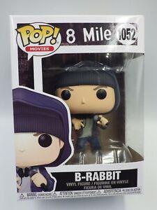 Figura Funko Pop Película 8 Mile Eminem 1052 B-Rabbit Nuevo