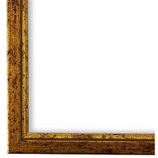 Bilderrahmen Genua Braun Gold 24x30 28x35 30x30 30x40 30x45 40x40 40x50