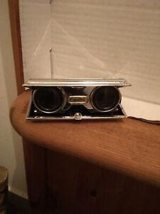 Crystar altes Opernfernglas Coated Lens, zusammenklappbar, gebraucht