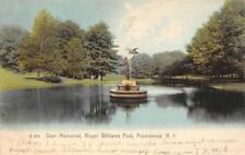 Dyer Memorial, Roger Williams Park, Providence, Rhode Island 1906 Postcard
