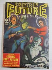RARE CAPTAIN FUTURE WIZARD OF SCIENCE SPRING 1940 ~ 2ND ISSUE!  HIGH GRADE!