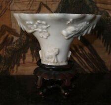 Coupe libatoire Porcelaine Chine Kangxi 17ème