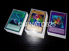 Yugioh Eye of Timaeus Deck! Dark Magician Girl Dragon Knight Amulet Formula Ebon