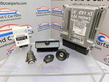 BMW E83 X3 Lock Set 1 Key DDE ECU 2.0D M47 Manual 110kW EWS3 6941986 7796571 *91