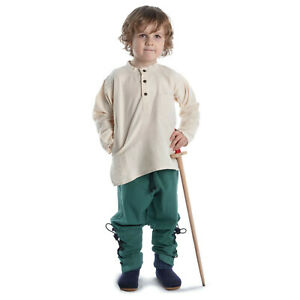 Mittelalter Kinderhemd Anfortas aus Baumwolle Gewandung LARP Hemd Kinder   HEMAD