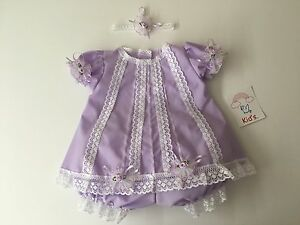 Baby clothes/dress Newborn handmade in the USA
