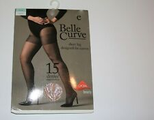 Belle Curve Womens Sheer Natural Tights Size 18-20 #LIN4